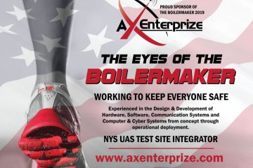an ad that was made for the boilermaker road race that explains that AX Enterprize was doing all aerial shots during the race
